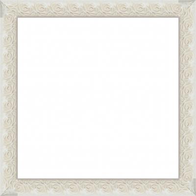 Vendita cornici su misura in legno con rose decorate in for Cornici foto bianche